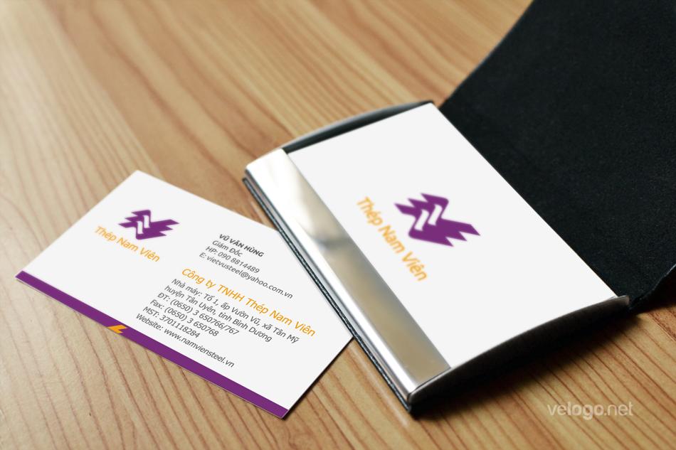 Thiết kế logo công ty thép Nam Viên