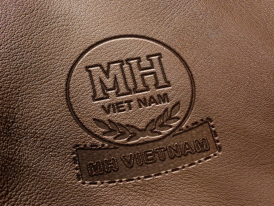 thiet ke logo cong ty MH Viet Nam