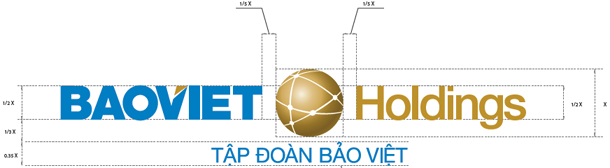 Mẫu thiêt kế logo công ty Bảo Việt