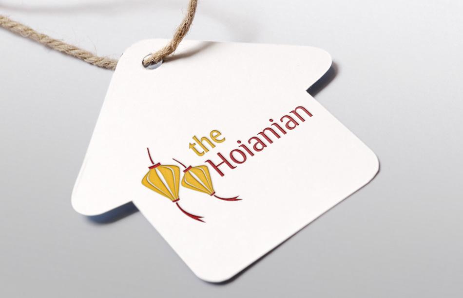 """Tên thiết kế logo """"The Hoianian"""""""