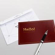 thiet ke postcard